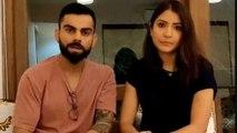 Virat Kohli & Anushka Sharma Urge Fans To Stay At Home During Lockdown