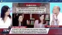 El festejo feminista de Marta Flich al enterarse que el coronavirus mata más hombres que mujeres