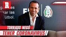 Gerardo Torrado anunció que no tiene coronavirus