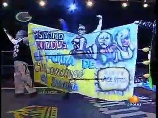 AAA Sin Limite 2009.12.18 Chilpancingo - Match #04 La Legion Extranjera vs. The Psycho Circus
