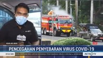 Sejumlah Ruas Jalan di Jakarta Selatan Disemprot Disinfektan