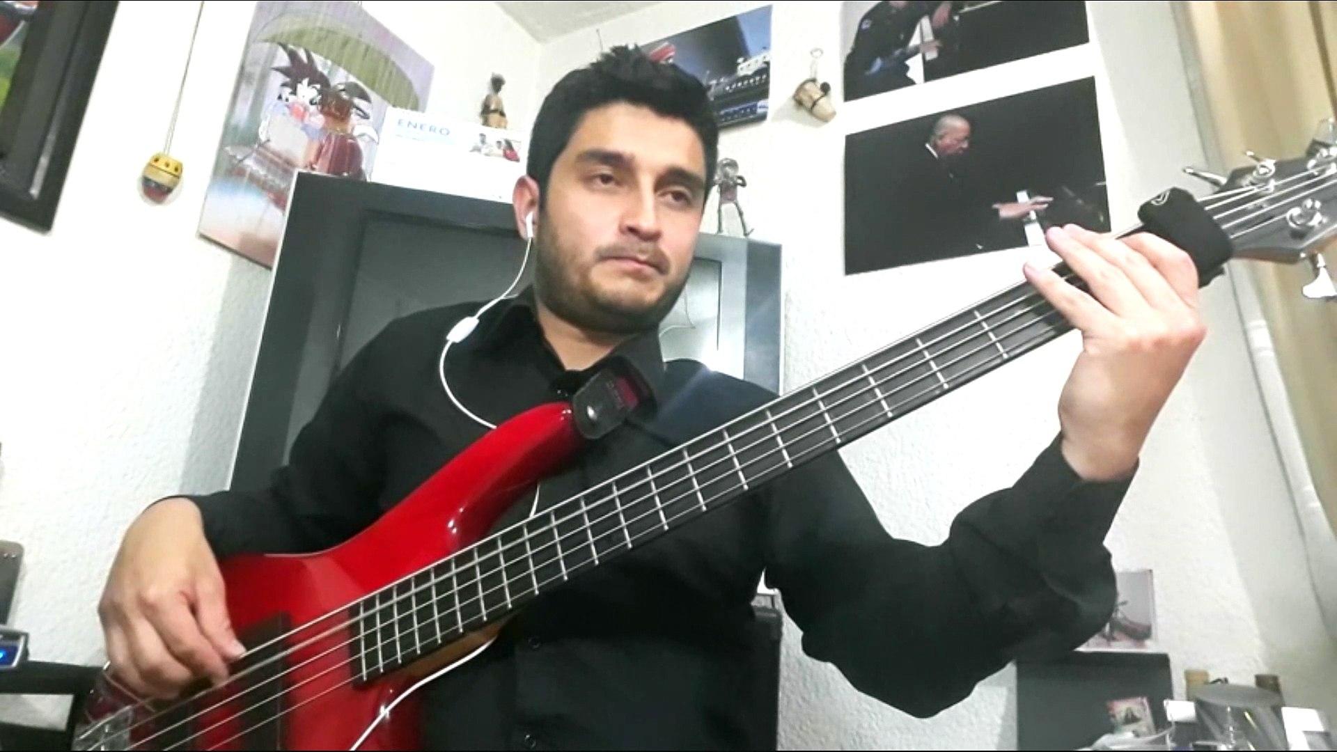 Cosmosquad - El Perro Vaila - Bass Cover - Bass Line