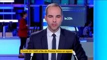Coronavirus: l'appel de l'Agence Régionale de Santé d'Île-de-France