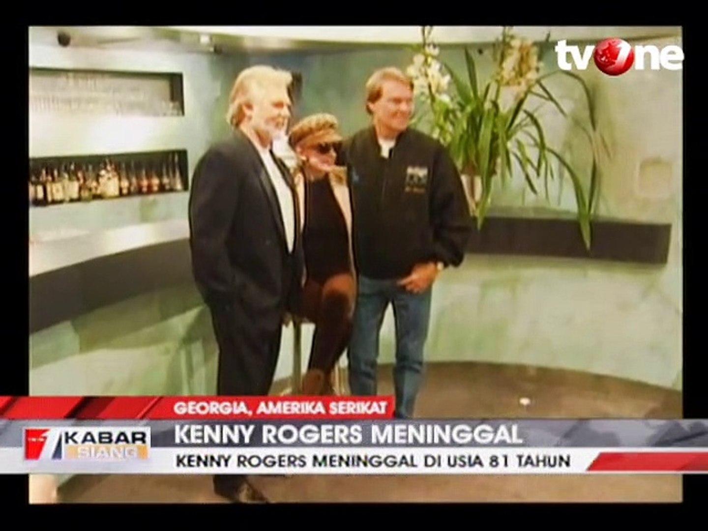 Ikon Musik Country Kenny Rogers Meninggal Dunia Video Dailymotion