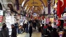 Istanbul's Grand Bazaar closes due to coronavirus pandemic