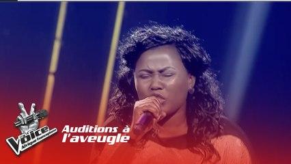 Edrissia - Je m'en fous | Les Auditions à l'aveugle | The Voice Afrique Francophone| Saison 3