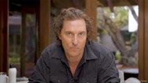 Matthew McConaughey appelle ses fans à la solidarité face au coronavirus