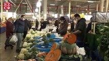 Beylikdüzü pazarından koronavirüs önlemi
