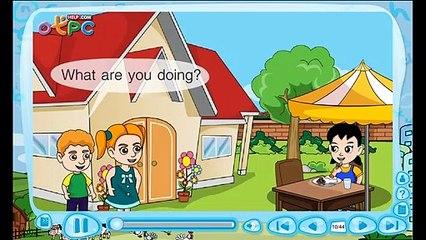 สื่อการเรียนการสอน What are you doingป.3ภาษาอังกฤษ