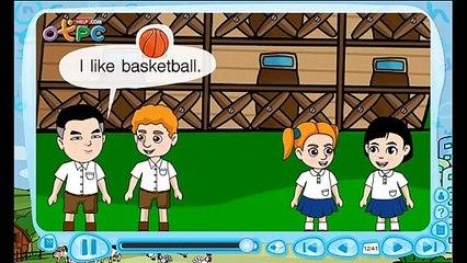 สื่อการเรียนการสอน What sports do you likeป.3ภาษาอังกฤษ