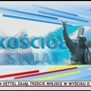 T\/P Warszawa - czołówka programu Kościół i świat (2006-2011 r.)