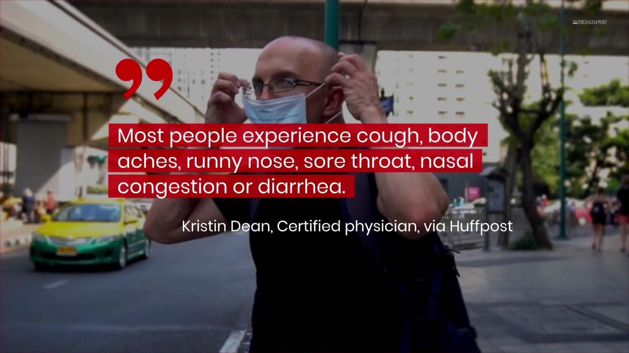 What Are 'Mild Symptoms' of Coronavirus?