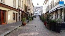 VIDEO - La place Stanislas figée par le Covid-19 à Nancy