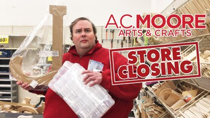 What's in Junt's Cart? - A.C. Moore Closing