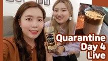 Quarantine Day4 Live! Let's make Dalgona coffee!