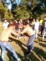 Koronavirüs sebebiyle yapılan 'Evde Kalın' çağrısına uymayan gençler, ormanda güreş yaptı