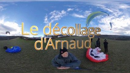 Le décollage d'Arnaud (verrsion 360°)
