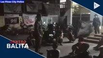 Mga paulit-ulit na lumalabag sa enhanced community quarantine sa Las Piñas, hinuli