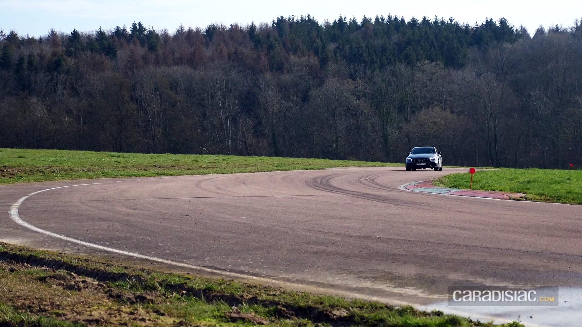 Les essais de Soheil Ayari : Mercedes A45 AMG
