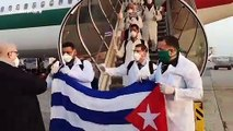 Cuban doctors arrive in Italy to join COVID-19 battle