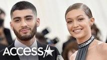 Gigi Hadid Confirms Romance With Zayn Malik: 'HEY VALENTINE'