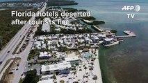 Florida hotels deserted after islands' shutdown