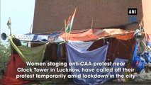 COVID-19 outbreak: Anti-CAA protestors call off their protest amid lockdown in UP