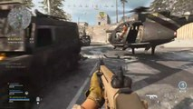 Helicopter kills 2 other players in Call of Duty Warzone (Xbox One 2020)
