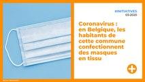 Coronavirus : en Belgique, les habitants de cette commune confectionnent des masques en tissu