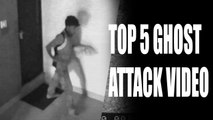 Top 5 Ghost Attack Video Caught On CCTV Camera - Scary Videos - Real Ghost Videos Caught On Camera