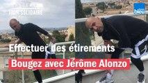 Effectuer des étirements avec Jérôme Alonzo