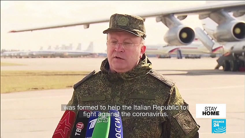 Coronavirus pandemic: Russia, Cuba, China send aid to Italy