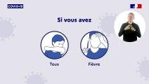 Spot télé : Conduite à tenir en cas de signe