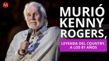 Murió Kenny Rogers, leyenda del country, a los 81 años
