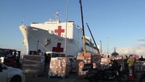 US Navy hospital ship to serve non-COVID-19 patients