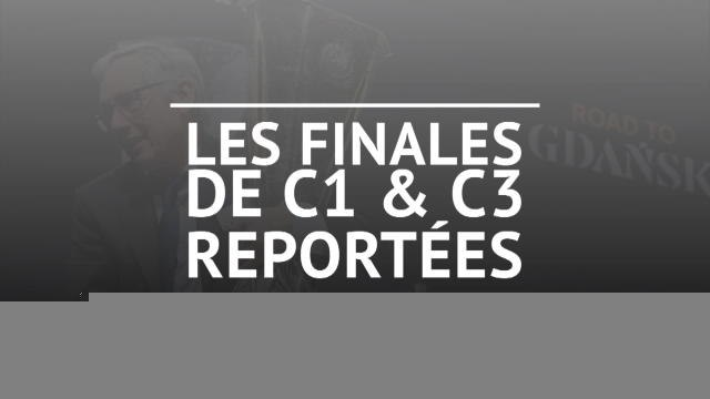 Coronavirus - Les finales de C1 et C3 reportées