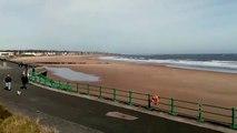 Seaburn Beach, Sunderland, on March 23