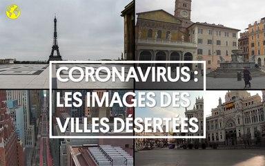 Coronavirus : les images des villes désertes partout dans le monde