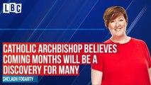 Shelagh speaks to Catholic Archbishop