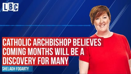 Shelagh speaks to Catholic Archbishop
