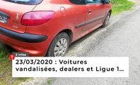 Voitures vandalisées, dealers et ligue 1… Cinq infos bretonnes du 23 mars