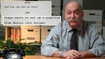 Undercover FBI Agent Recounts Taking Down El Chapo   Screen Written