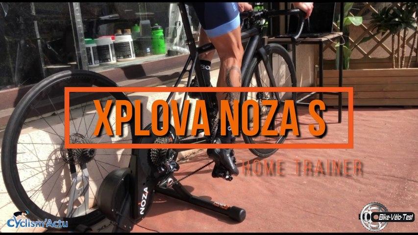 Bike Vélo Test - Cyclism'Actu a testé pour vous le Home Trainer Xplova Noza S