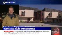 """20 décès dans un Ehpad des Vosges """"en lien possible avec le coronavirus"""""""