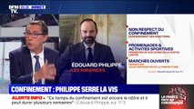 Confinement: Edouard Philippe serre la vis