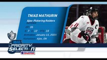 2020 OHL Priority Selection Prospect Feature: Tnias Mathurin