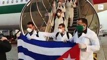 Decenas de médicos cubanos llegan a Milán para luchar contra el coronavirus