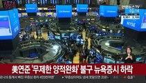 美연준 '무제한 양적완화' 불구 뉴욕증시 하락