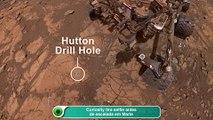 Curiosity tira selfie antes de escalada em Marte