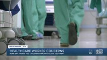 Healthcare workers concerned about coronavirus pandemic